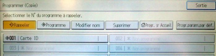 Bannière Programmation écran